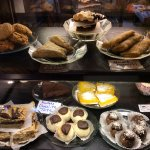 Pastries, gluten free treats, and vegan items