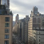 We also had a cool view down Madison Avenue from our room!