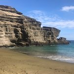 Photo of South Point (Ka Lae) and Green Sand Beach