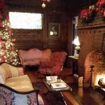 The Main parlor all decorated for Christmas!