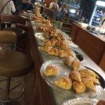 Great pastry spread at breakfasst