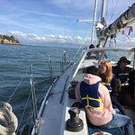 Sailing towards Alcatraz