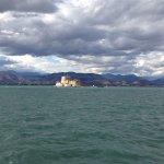 Nafplio harbor from the promenade