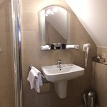 Classic Double Room bathroom at Hotel Pod Vezi - Prague