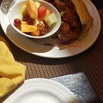 PoBoy with side of fruit