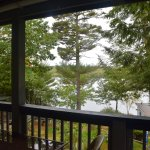 view from our shared deck