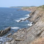 Coastline photos while driving the Cabot Trail