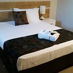 Lovely pillows, just right bed and fabulous towels!