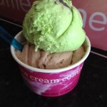 Nutella and mint chocolate chip