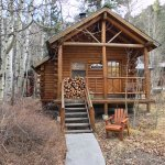 Creekside cabin.... great one for couples