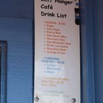 Another Drink Menu