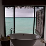 Bathroom view from West Side of Island