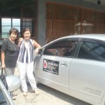 Happy Clients - On their way to Nuwara Eliya