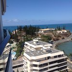 View from 14th Floor over Baie de Citrons