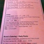 sandwiches & more menu page