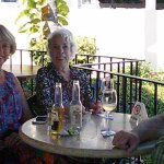 "Two times we hosted good friends at the Palapa Bar from our ""Days of Old"", who now live in the a"