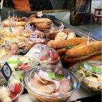 Salades et sandwich