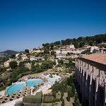 Piscine extérieure de l'hôtel Dolce Frégate Provence