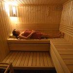 Le sauna de La Milonga bed & breakfast