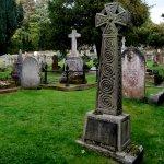 Gravestone 2, celtic in full beauty