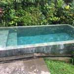 Private plunge pool.