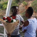 Khumalo just trying to be romantic.