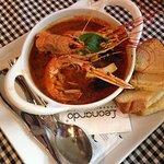Sensational seafood soup