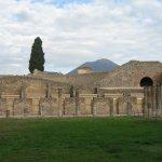 The entrance to Pompeii