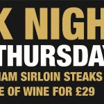 Top quality steaks with top quality trimmings including our delicious homemade peppercorn sauce.