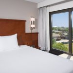 Select rooms have views of Six Flags and AT&T stadium.