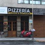 Fachada Pizzería Galega Silleda