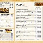 Carta Pizzería Galega Silleda
