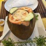 Camarão no Coco