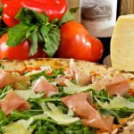 One of our delicious pizzas