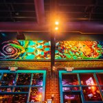 Mellow Mushroom Asheville, mural by local artist Kimi Leger
