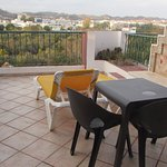 The balcony was a good size with excellent views across Silves