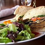 Heck's Crispy Eggplant Sandwich