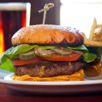 Heck's Classic DTR Wagyu Beef Cheeseburger