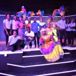 Animation Team with Folkloric dancers