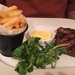 Rib Eye Steak with Bernaise Sauce from the a la carte menu