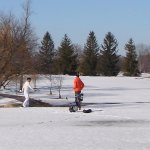 We are open for golf all year.