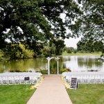 our exquisite outdoor ceremony site