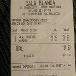 Cala Blanca fényképe