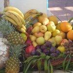 la corbeille de fruits frais