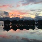 Lake Village (at sunrise)