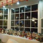 Gathering Room Bay Window -  Madison Christmas Village