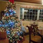 Christmas Tree - Gathering Room - Bay Window area