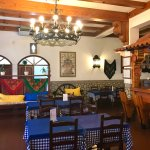 Inside 'O Manjar do Marques' Restaurant