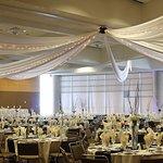 Reception in Harbor Side Ballroom