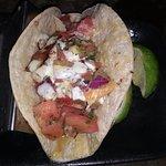 Excellent grilled grouper tacos.